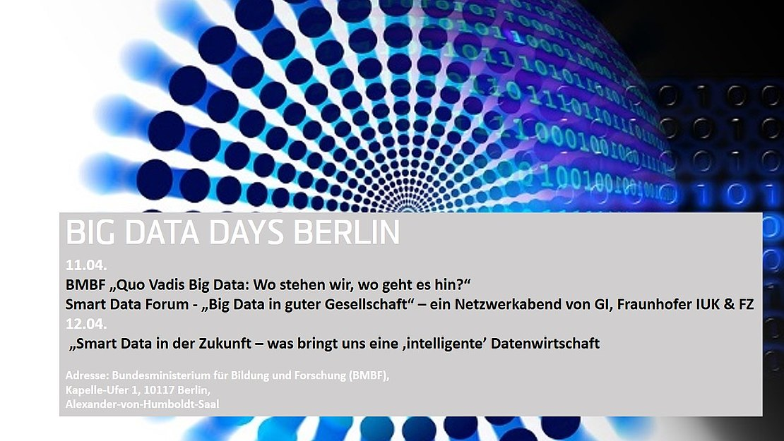 11.04.2018  Big Data Days 2018 in Berlin