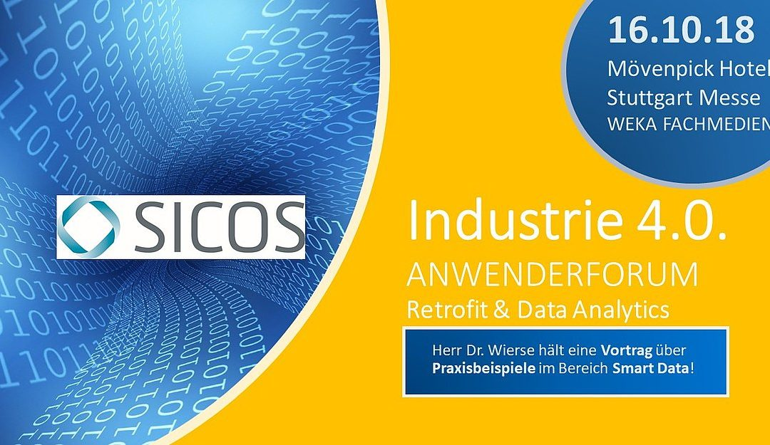 16.10.2018  Anwenderforum Industrie 4.o – Retrofit & Data Analytics