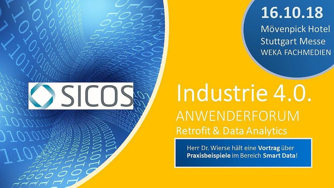 16.10.2018  Anwenderforum Industrie 4.o – Retrofit & Data Analytics