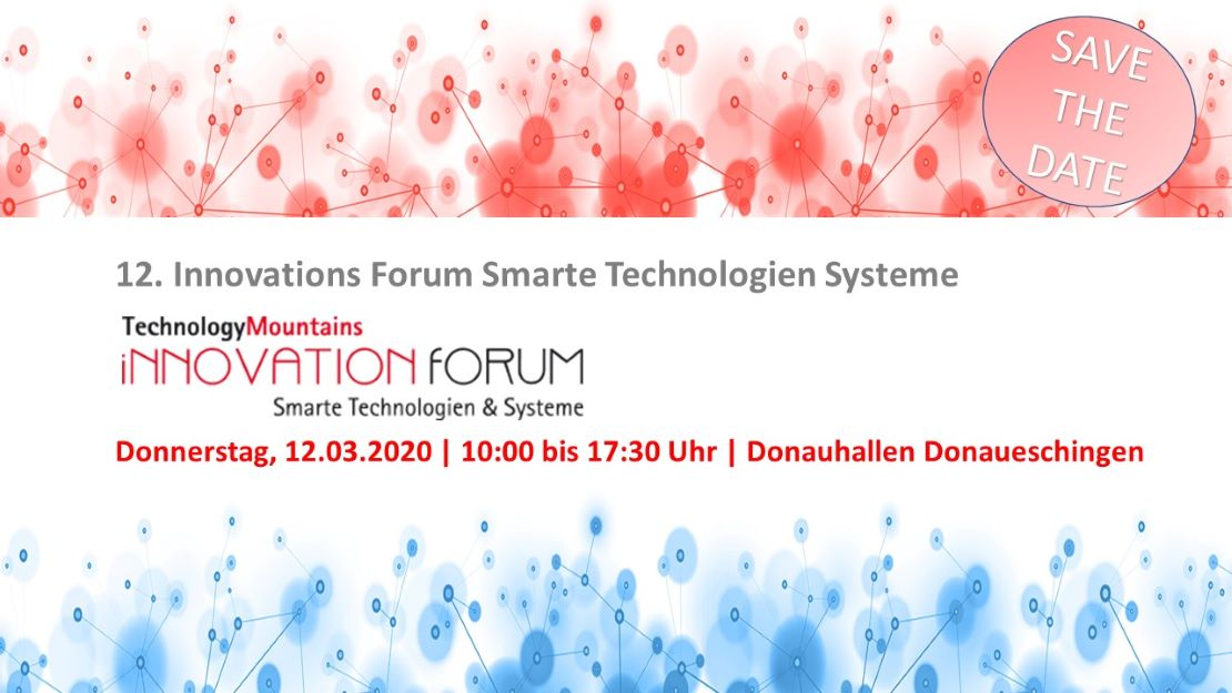 12. InnovationForum Smarte Technologien & Systeme