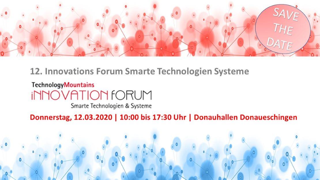 12. InnovationForum Smarte Technologien & Systeme