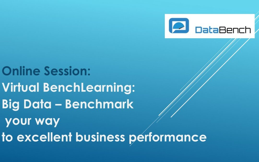 29.04.2020, 11:00 Uhr  Virtual BenchLearning: Big Data – Benchmark your way to excellent business performance
