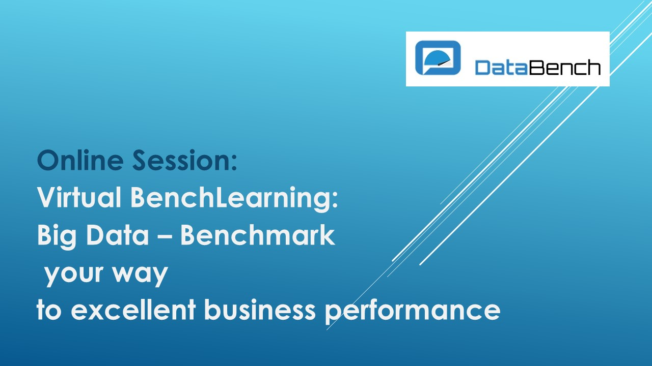 Virtual BenchLearning: Big Data – Benchmark your way to excellent business performance