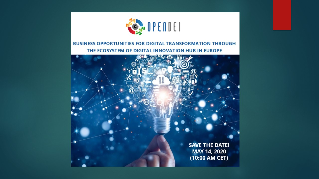 Business opportunities for digital transformation through the ecosystem of digital innovation hub in Europe