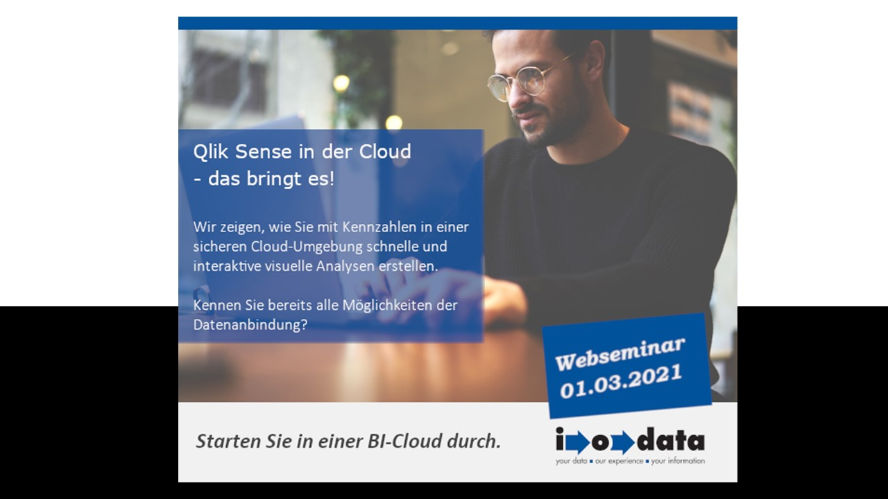 Webseminar – Qlik Sense in der Cloud – was bringt das?