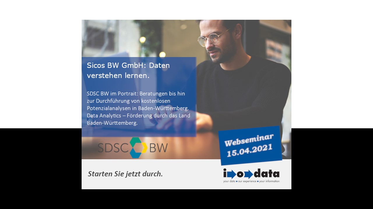 Sicos BW GmbH: Daten verstehen lernen.