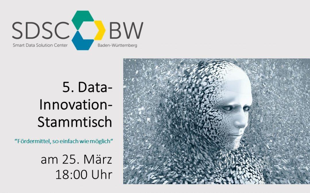 5. SDSC-BW Data Innovation Stammtisch