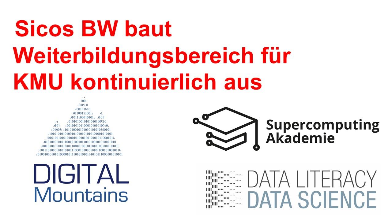 Sicos BW baut Weiterbildungsbereich für KMU kontinuierlich aus ! KMU sollten Zukunftstechnologien beherrschen