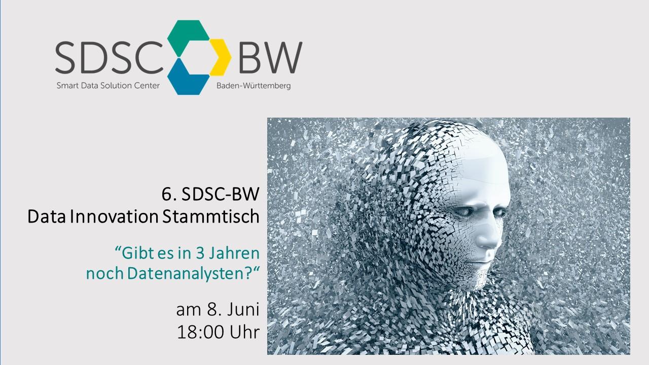 6. SDSC-BW Data Innovation Stammtisch