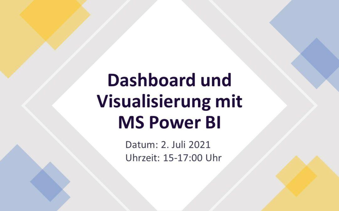 Dashboard und Visualisierung am Beispiel Microsoft Power BI – aus der Seminarserie Self-Service Business Intelligence